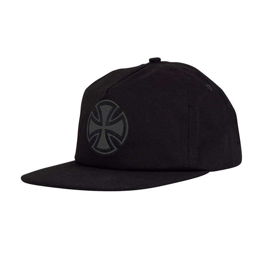 Bar/Cross Fade Out Snapback low (blk)