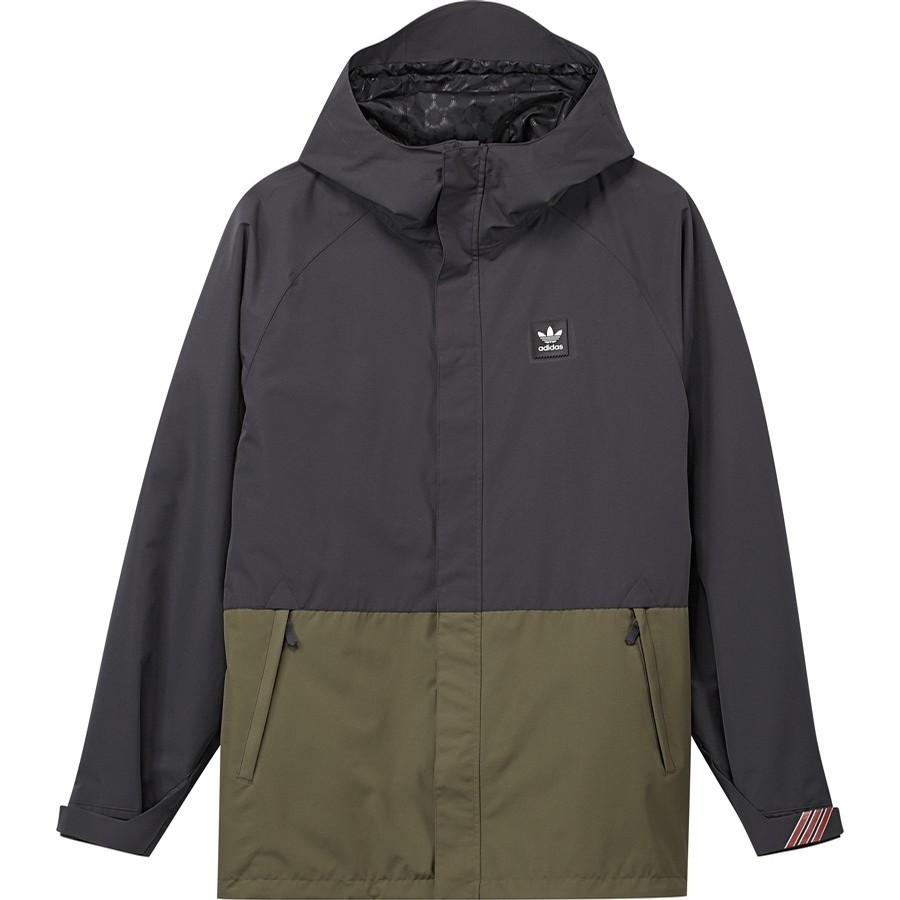 Riding Jacket (blk/olv)
