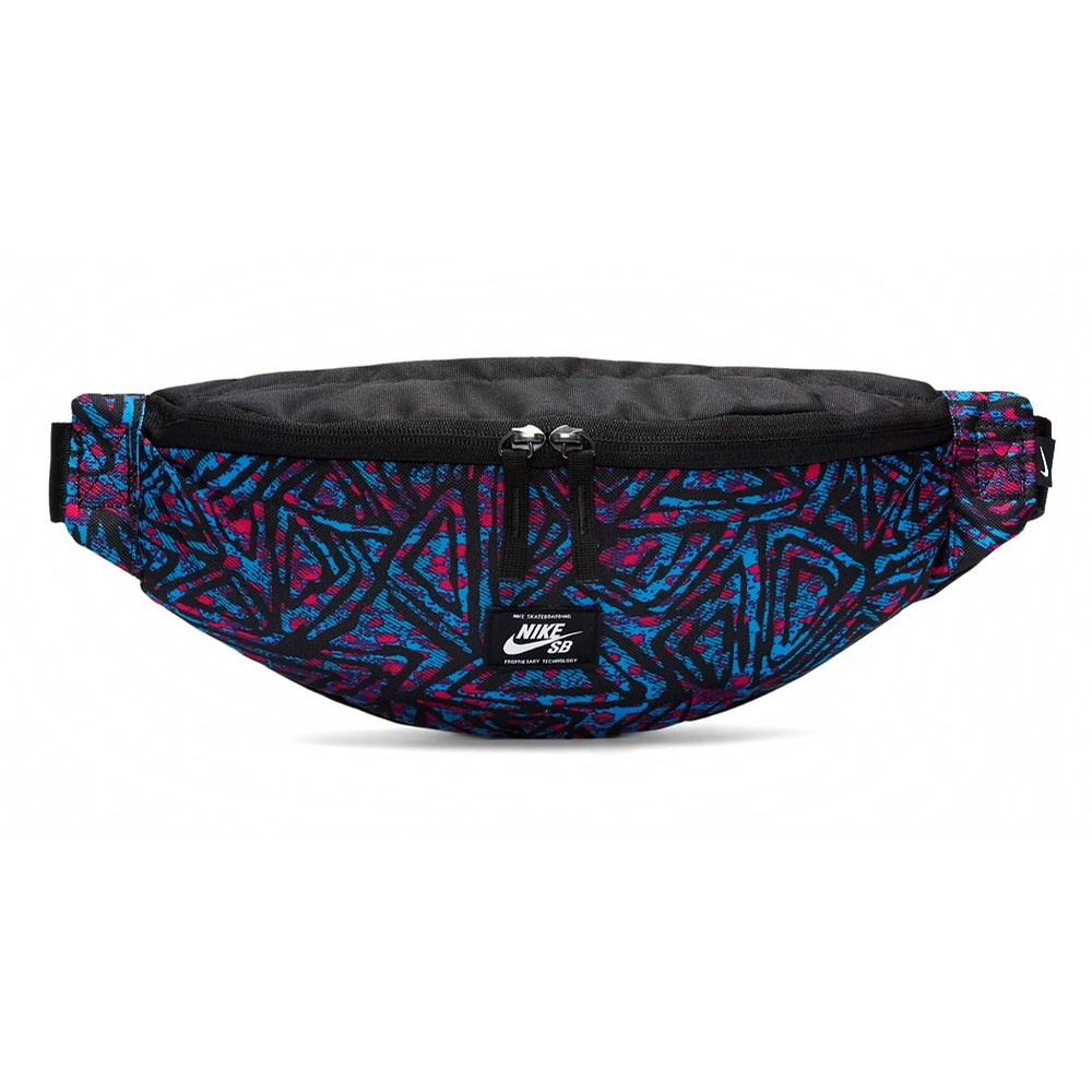 Heritage Hip Pack - BLACK/LASER BLUE/WHITE