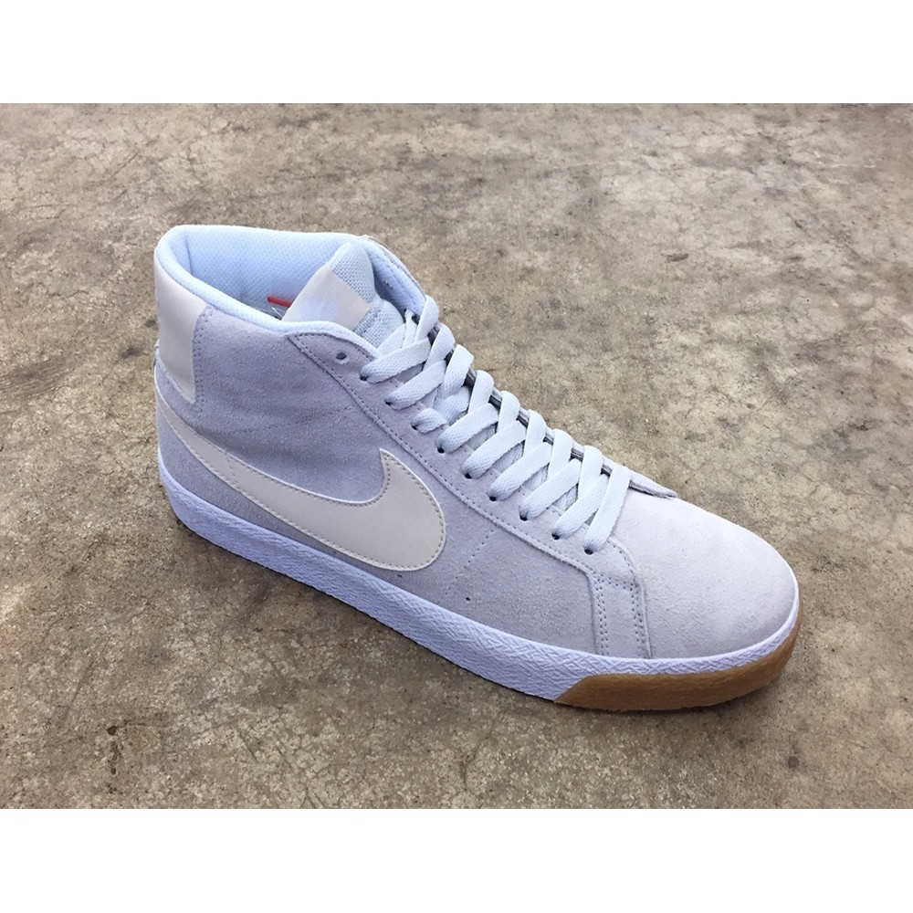 ZOOM BLAZER MID - PHOTON DUST/LIGHT CREAM-WHITE