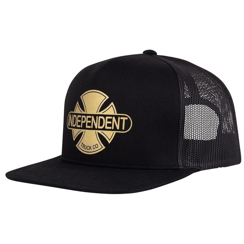 Baseplate Mesh Trucker High Profile (blk/gld)