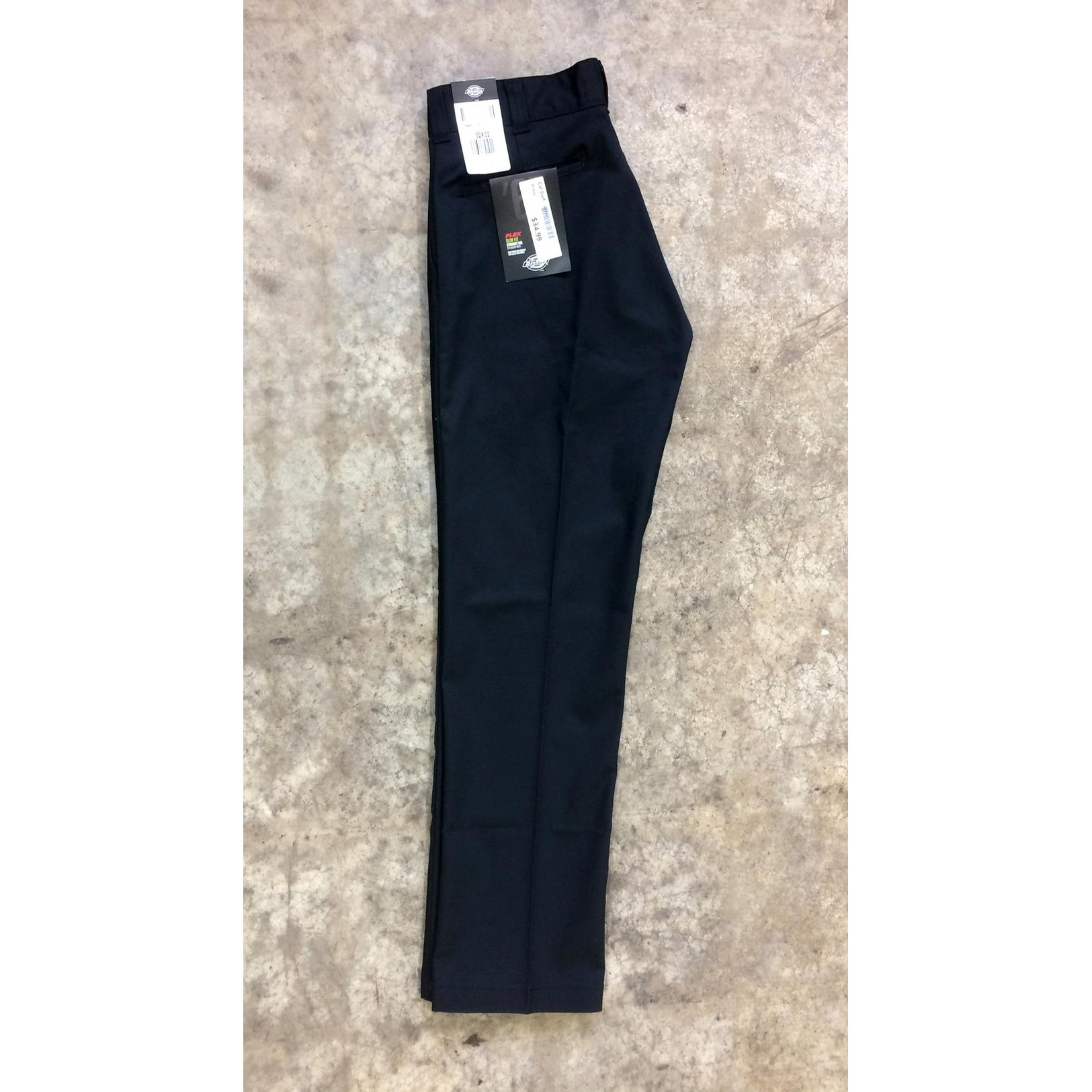 67 Collection Slim Straight Work Pant(bk)