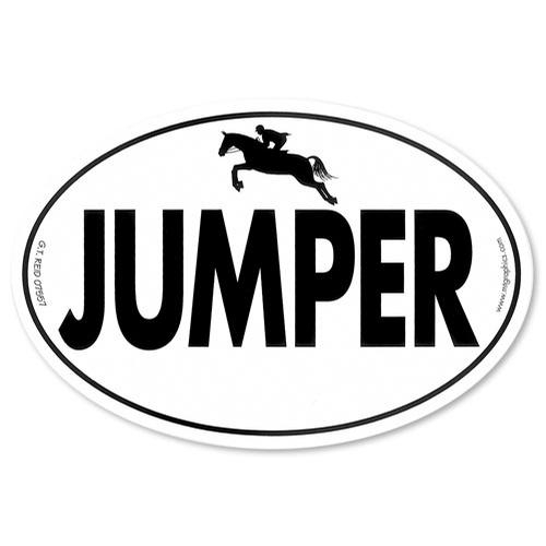 Euro Jumper Sticker