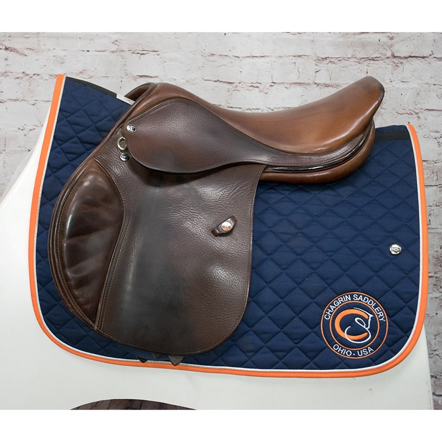 17.5 IN Tad Coffin TC2 Saddle Medium Wide Tree
