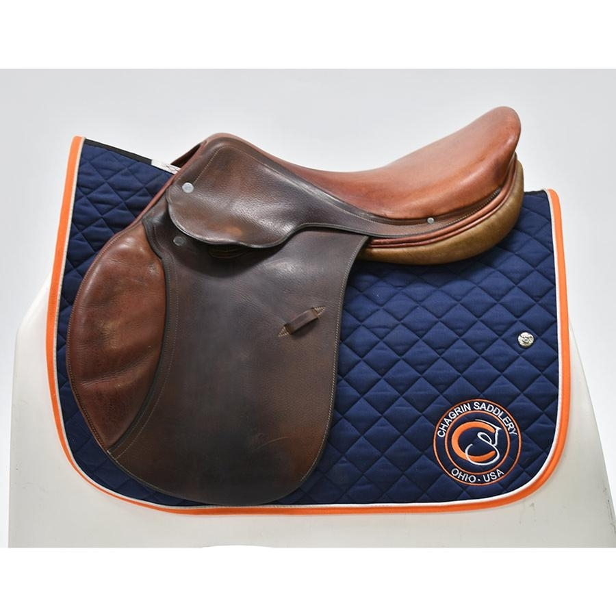 17 1/2 IN Hermes Oxer Saddle Medium Tree