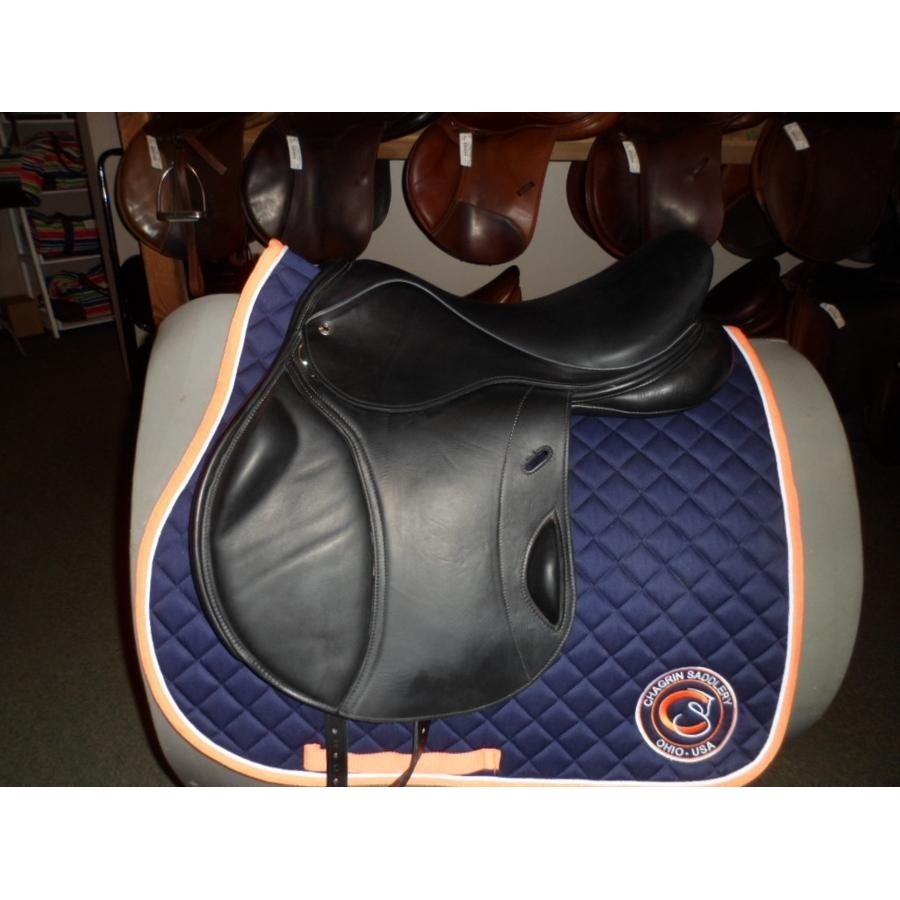 17 1/2 IN Bliss Loxley Monoflap Saddle Extra Wide Tree
