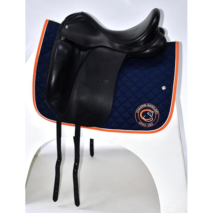 17 IN Custom Saddlery Steffens Advantage Saddle Medium Tree 2011