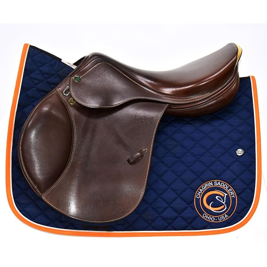 18 IN Prestige Nona Garson Saddle Medium Wide Tree