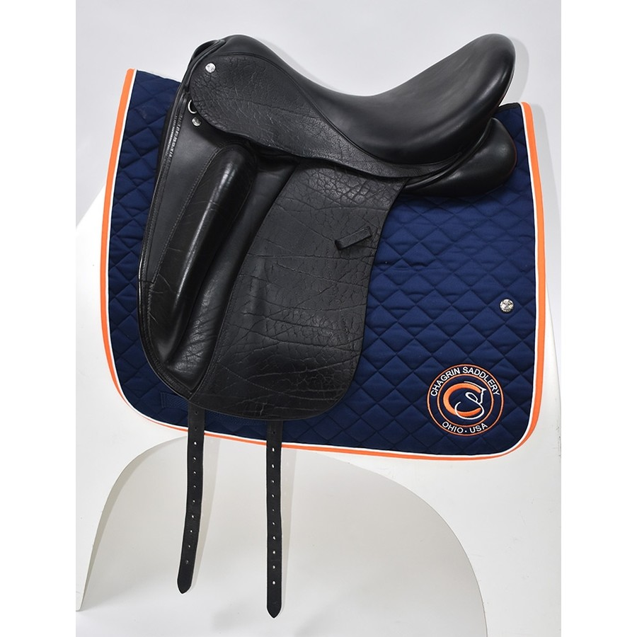 18 IN Custom Saddlery Wolfgang Solo Saddle Medium Tree 2014