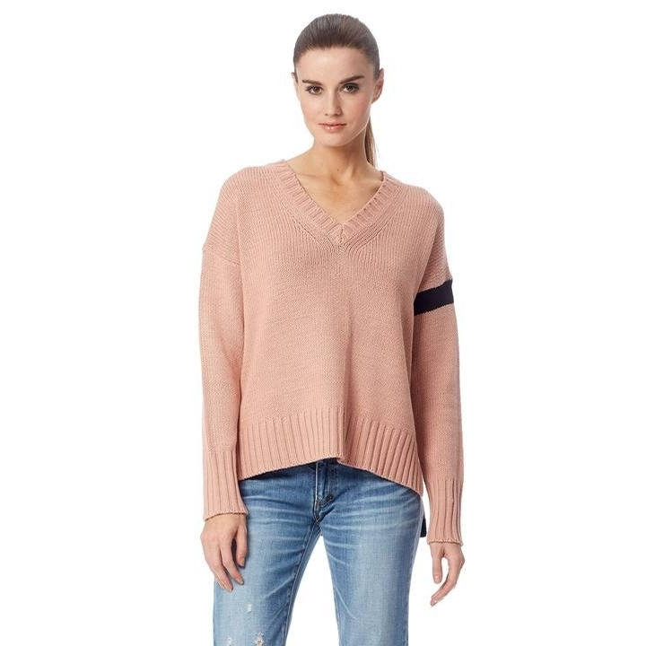 Ladies Barbara Sweater (Nectar/Black)