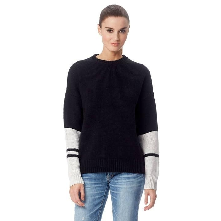 Ladies Shirley Sweater (Black/Marble)
