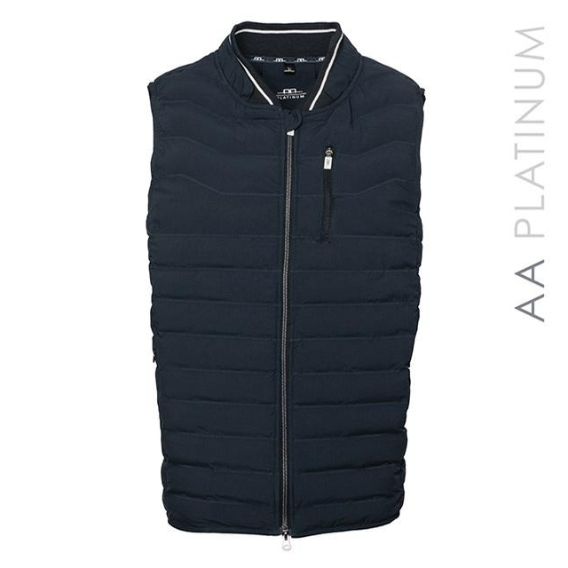 Mens Livorno Vest (Navy Blue)