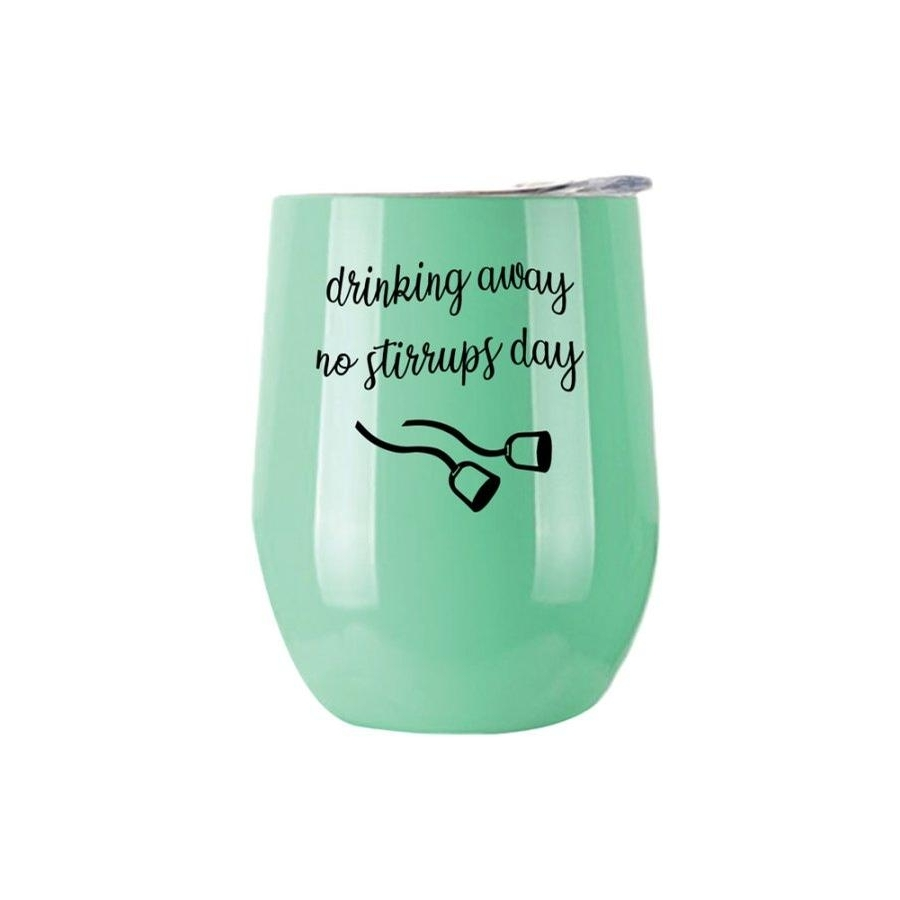 No Stirrups Insulated Cup (Mint)