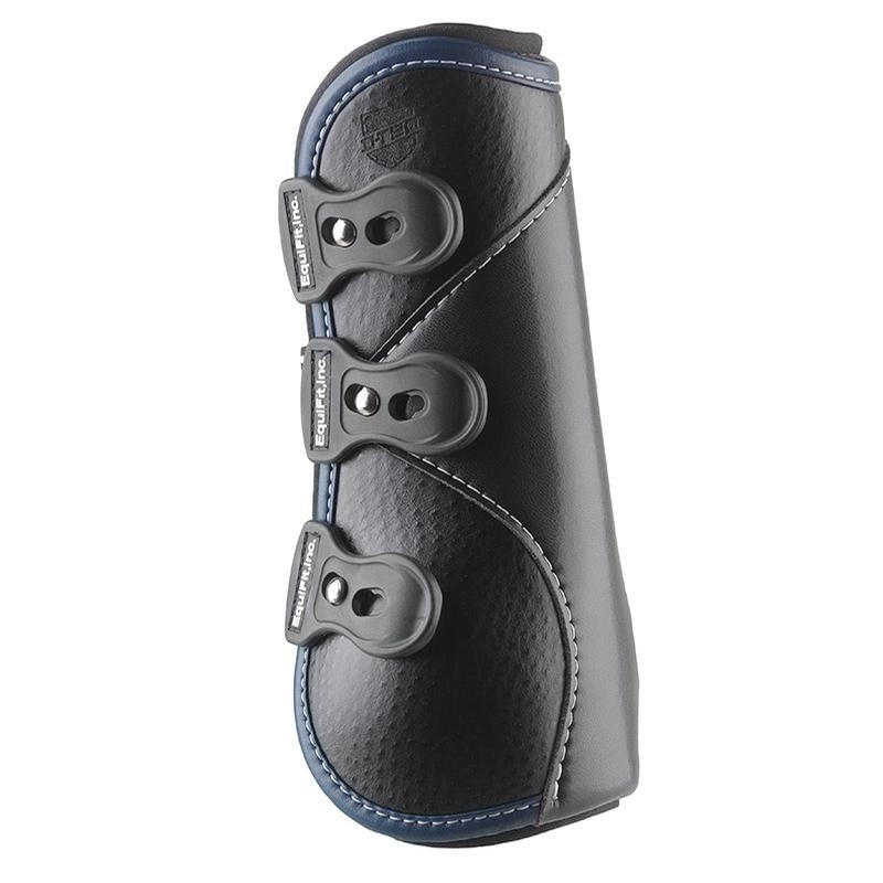 D-Teq Front Boots With ImpacTeq Liners (Black/Navy)