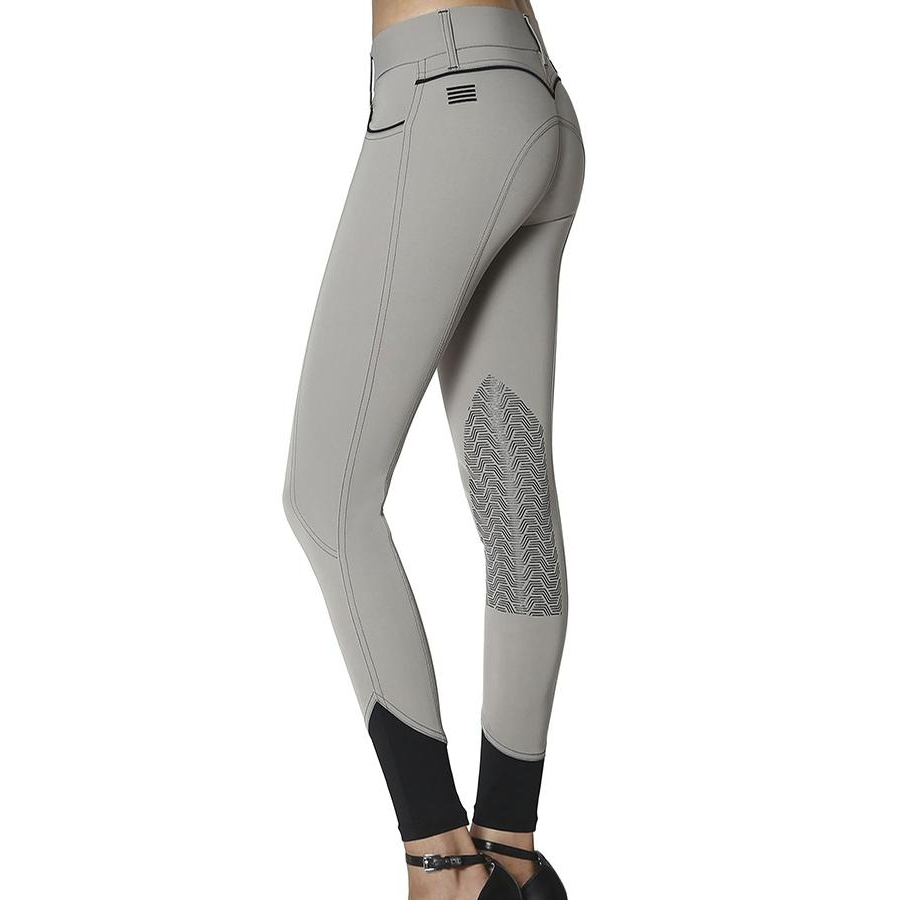 Ladies Elara Knee Patch Breech (Pistachio)