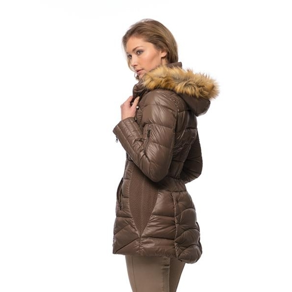 Ladies Glam Down Parka (Bronze)