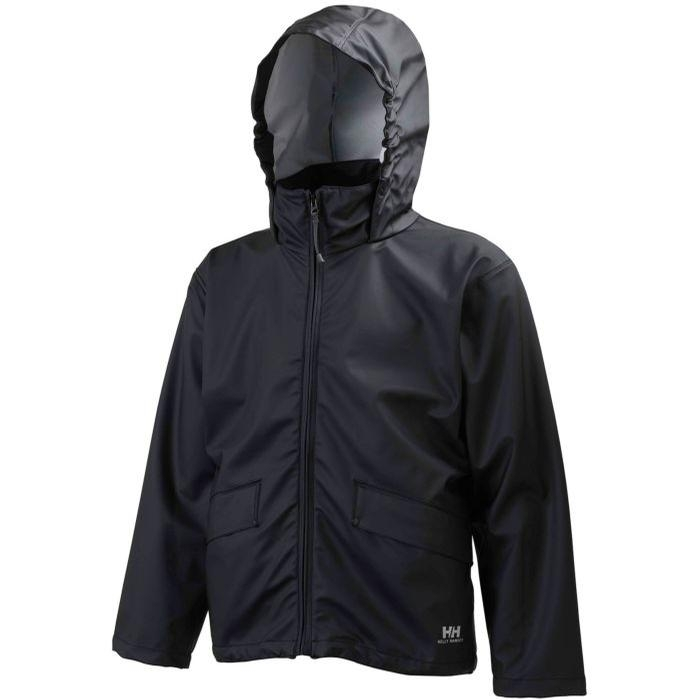 Childrens CS Patch Voss Jacket (Black)