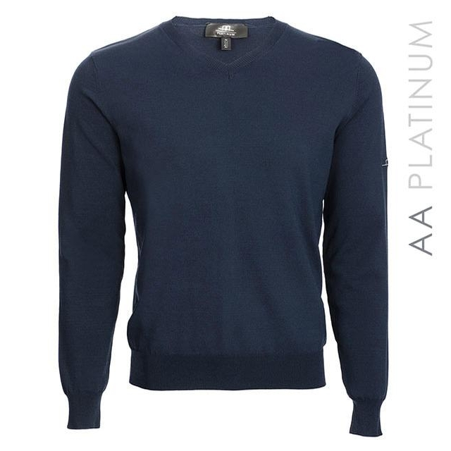 Mens Classic Light Sweater (Navy)