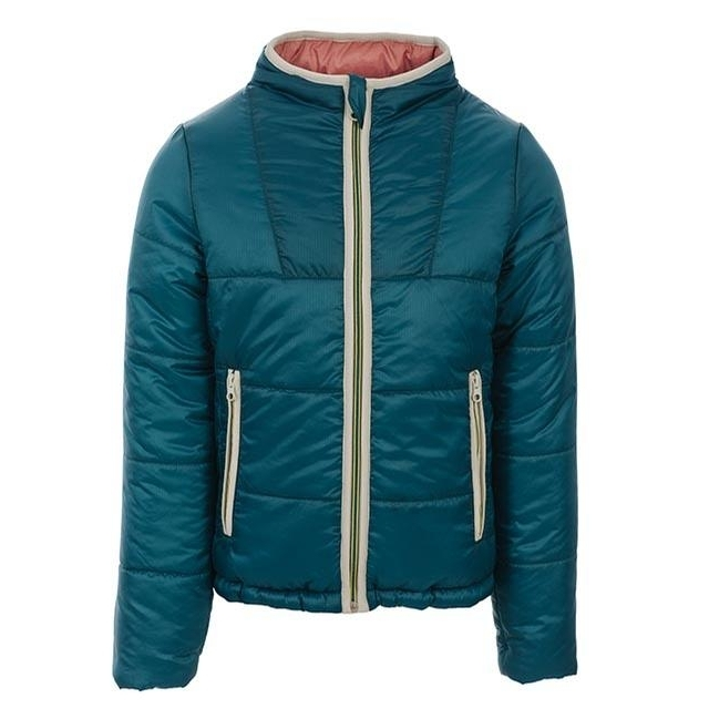 Childrens Reversible Padded Jacket (Teal)