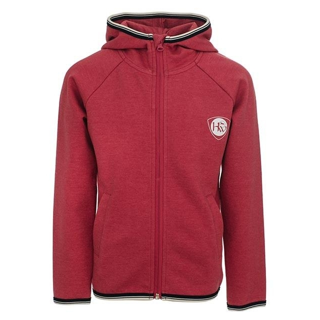 Childrens Winter Hoody (Raspberry)