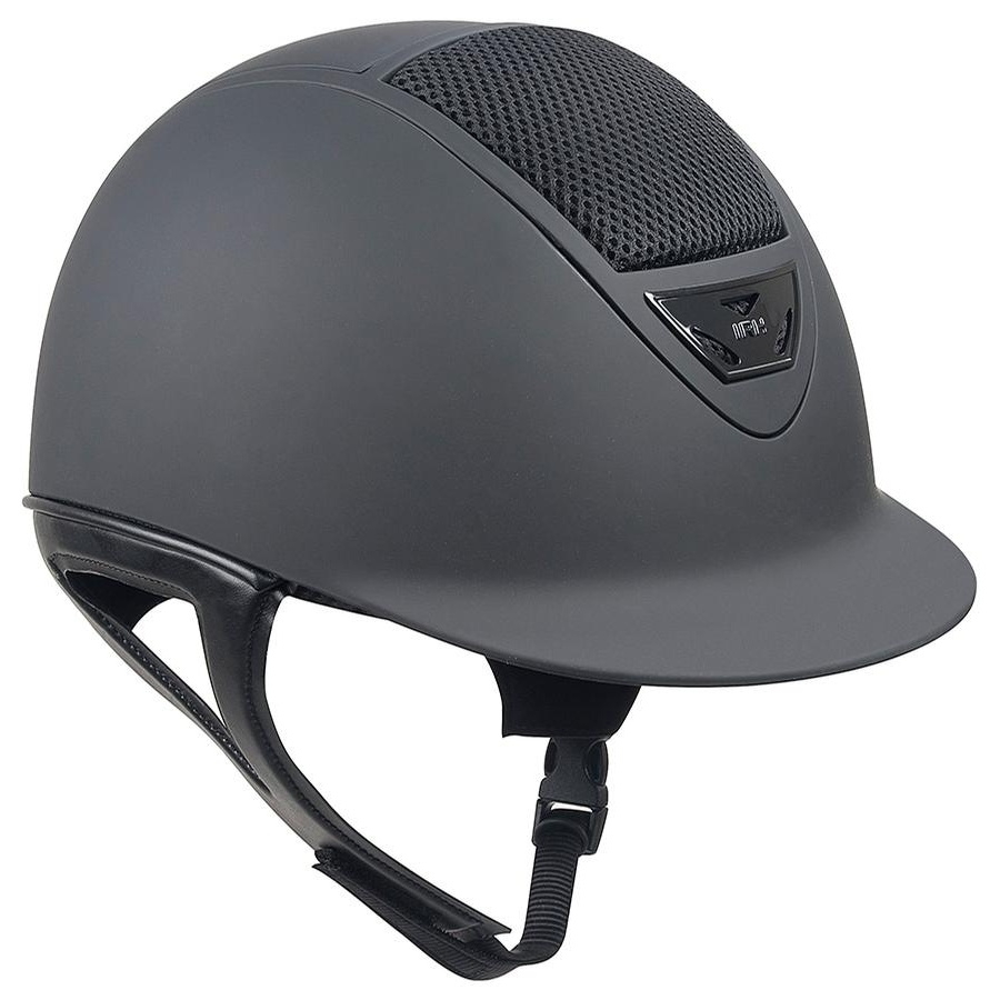 IRH XLT Matte Helmet with Matte Vents (Black)