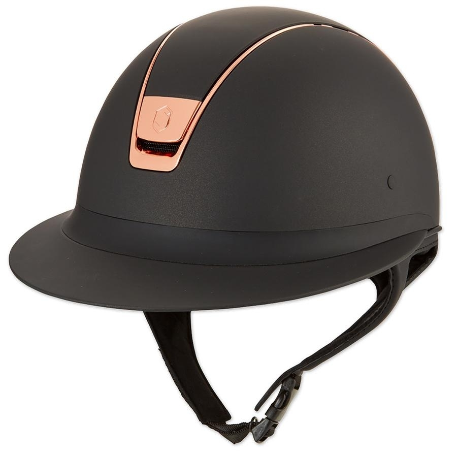 Miss Shield Shadowmatt Helmet Rose Gold Trim/Blazon