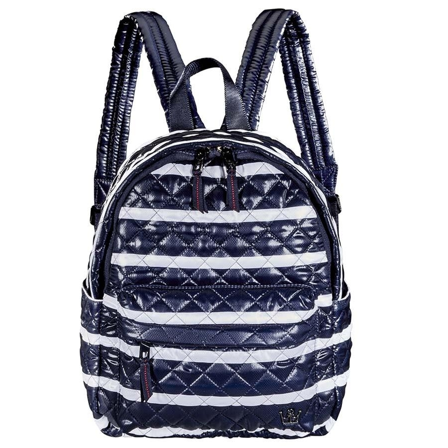 24 + 7 Tablet Backpack (Navy Nautical Stripe)