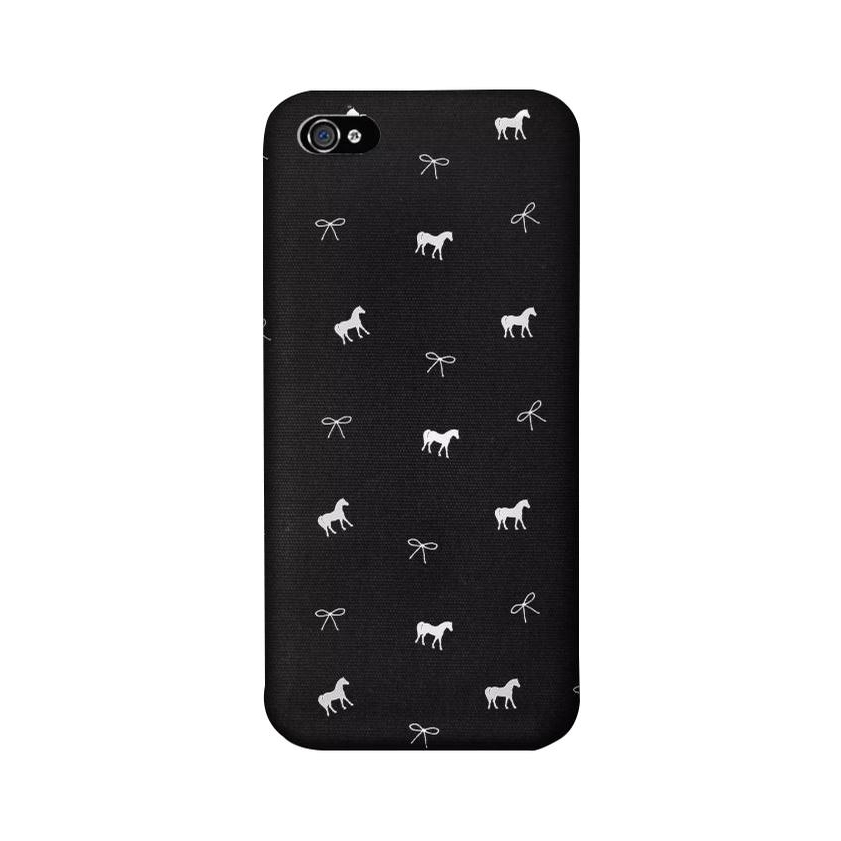 iPhone X Phone Case (Onyx Pony)