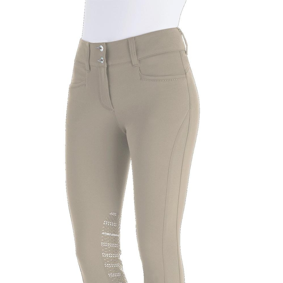 Ladies Naspre Knee Patch Breech (Calla)
