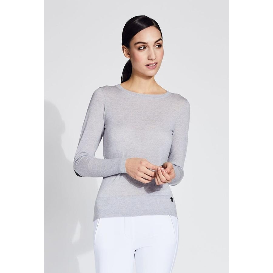 Ladies Ryanne Crew Neck Merino Sweater (Luna)