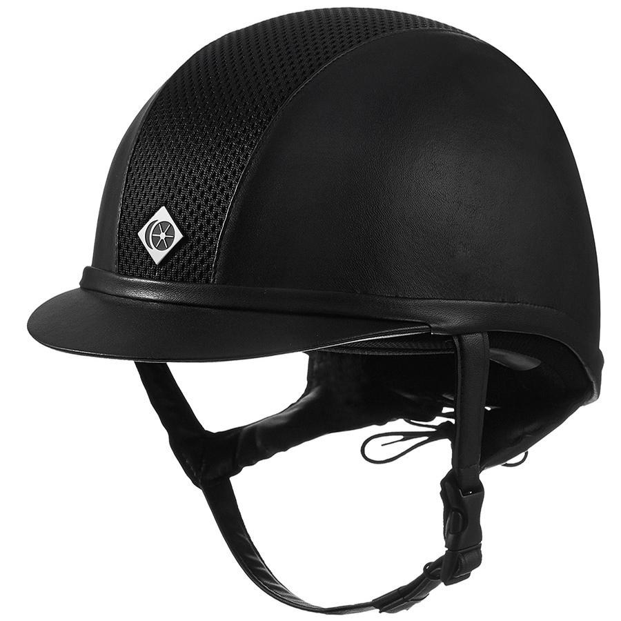 Ayr8 Leather Look Helmet