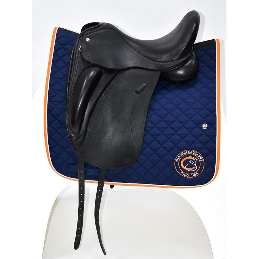 17 IN Custom Saddlery Everest R Saddle Medium Tree 2014