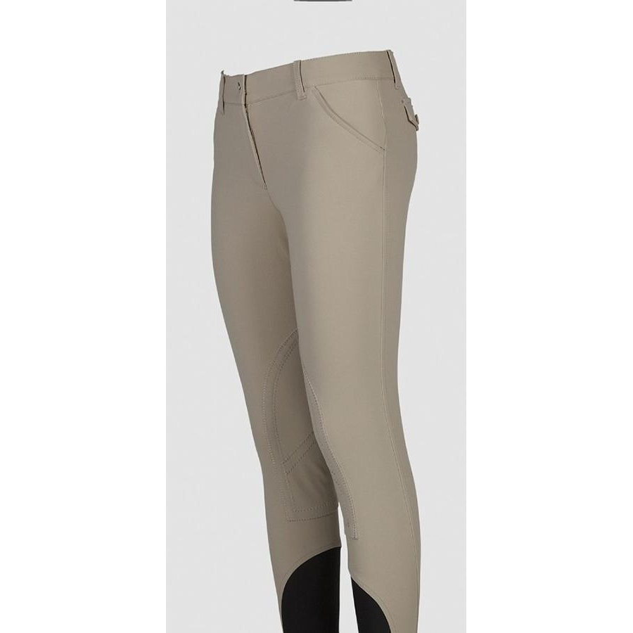 Ladies Boston Knee Patch Breech (Beige)