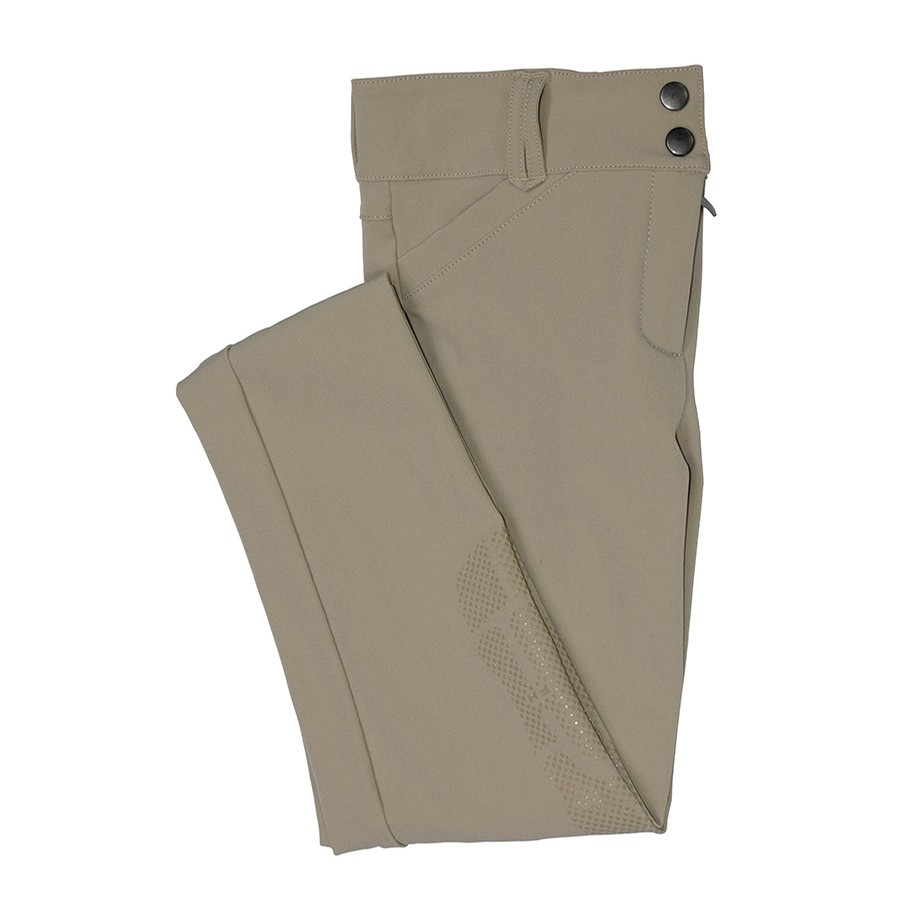 Girls Elsa Knee Patch Breech (Beige)