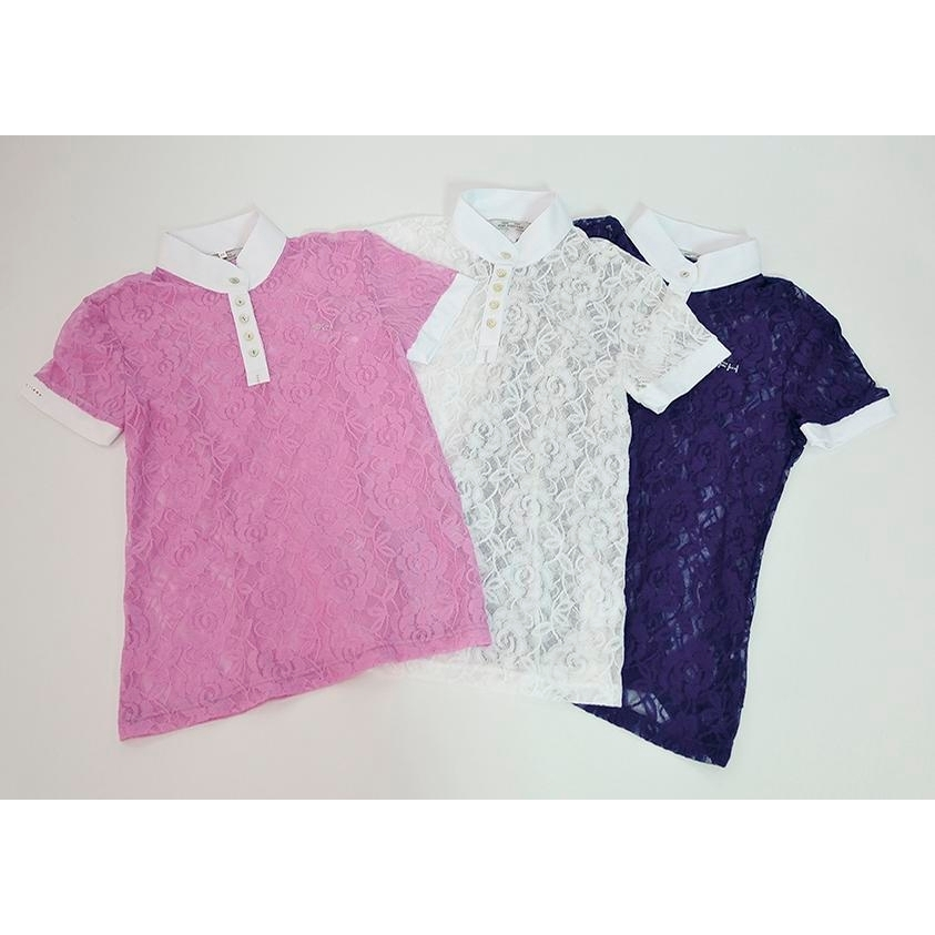 Ladies Luna Short Sleeve Shirt (Lilac)