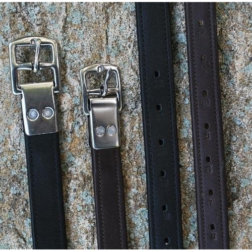 7/8 IN Riveted Calf Lined Stirrup Leathers