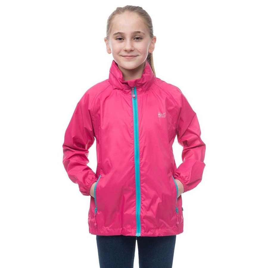 Childrens Origin Jacket (Neon Pink)