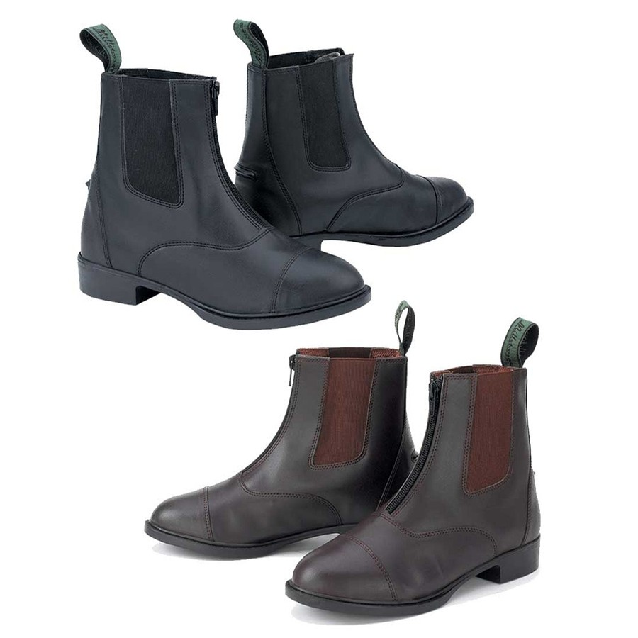 Synthetic Zip Paddock Boot