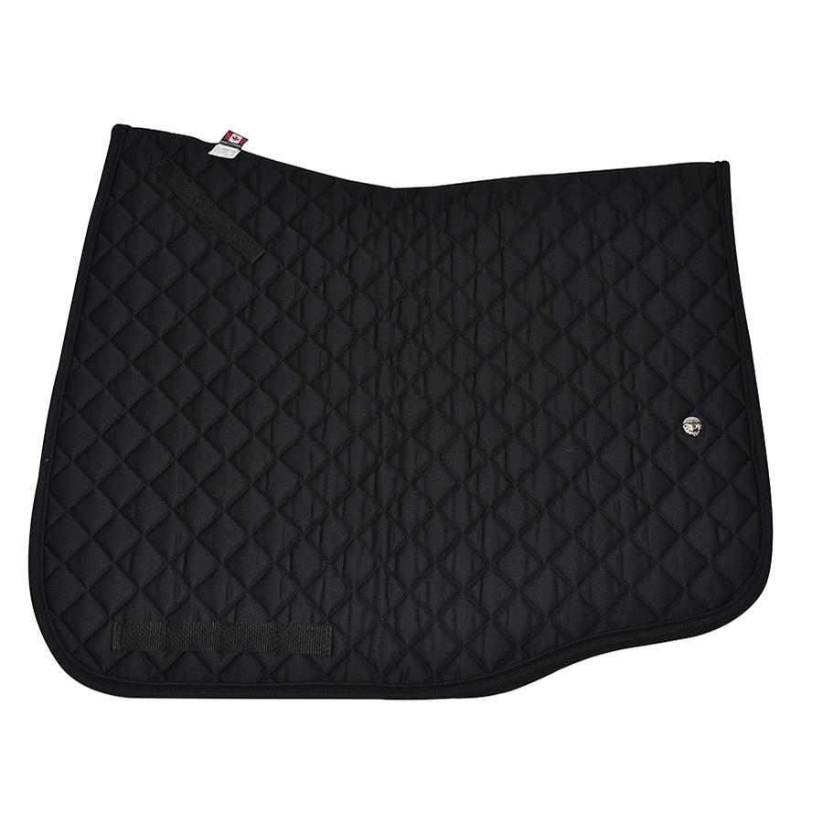 Dressage European Cut Profile Pad (Black)
