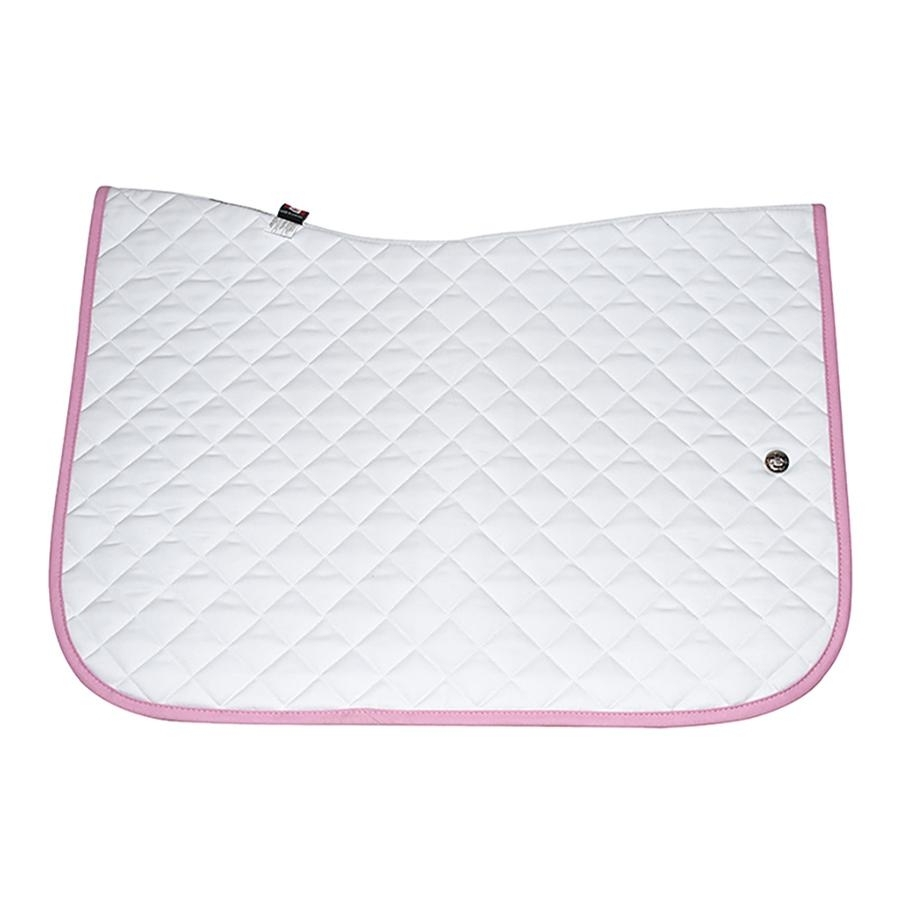Jump Baby Pad without Girth Loops (White/Baby Pink)