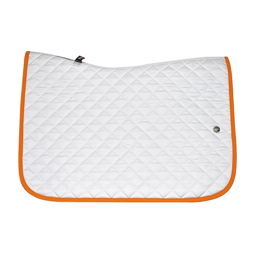Jump Baby Pad without Girth Loops (White/Orange)