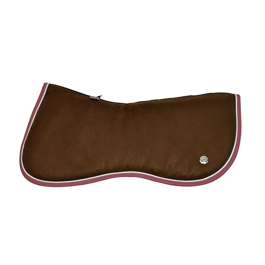 Memory Foam Jump Half Pad (Chocolate/White/Salmon)