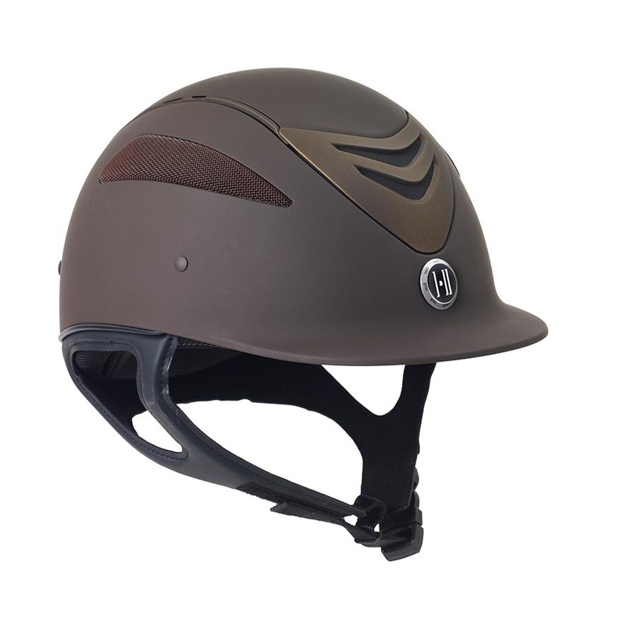 Defender Matte Long Oval Helmet (Brown)