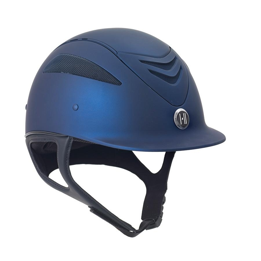 Defender Matte Helmet (Navy Blue)
