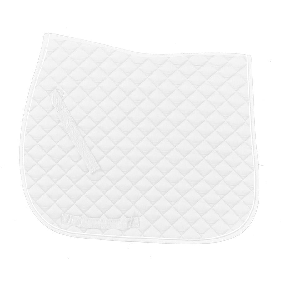 Coolmax Dressage Pad with Piping