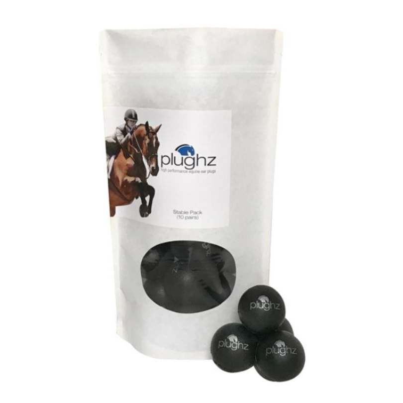 Equine Ear Plugs Stable Pack - 10 Pair