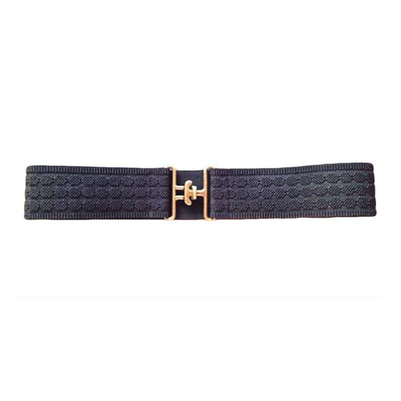 Surcingle Belt (Black Circle/Antique Gold)