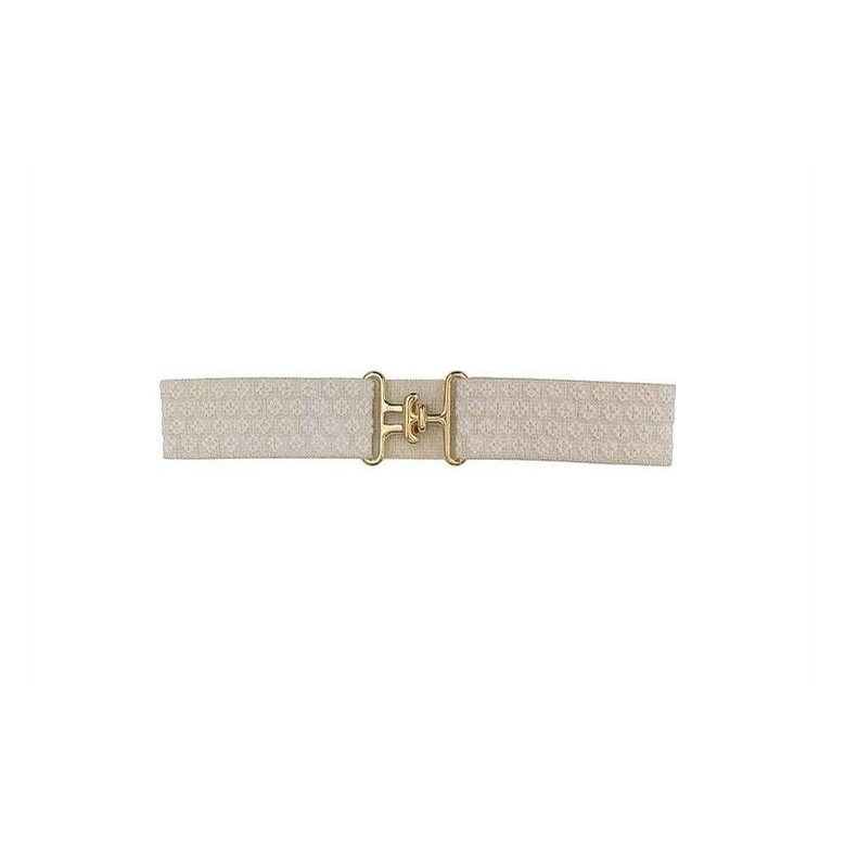 Surcingle Belt (Winter Pearl and Gold)