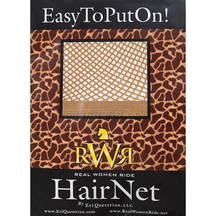 RWR No Knot Hair Net (Light Brown)