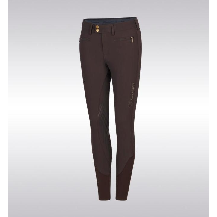 Ladies Adele Knee Patch Breech (Marron)